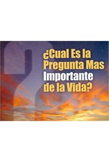 BMH Spanish-Life's Most Important Question (Cual Es La Pregunta)