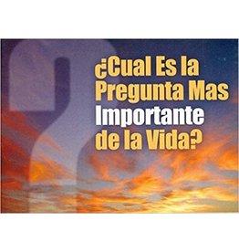 BMH Cual es la Pregunta mas Importante de la Vida (Life's Most Important Question, Spanish)