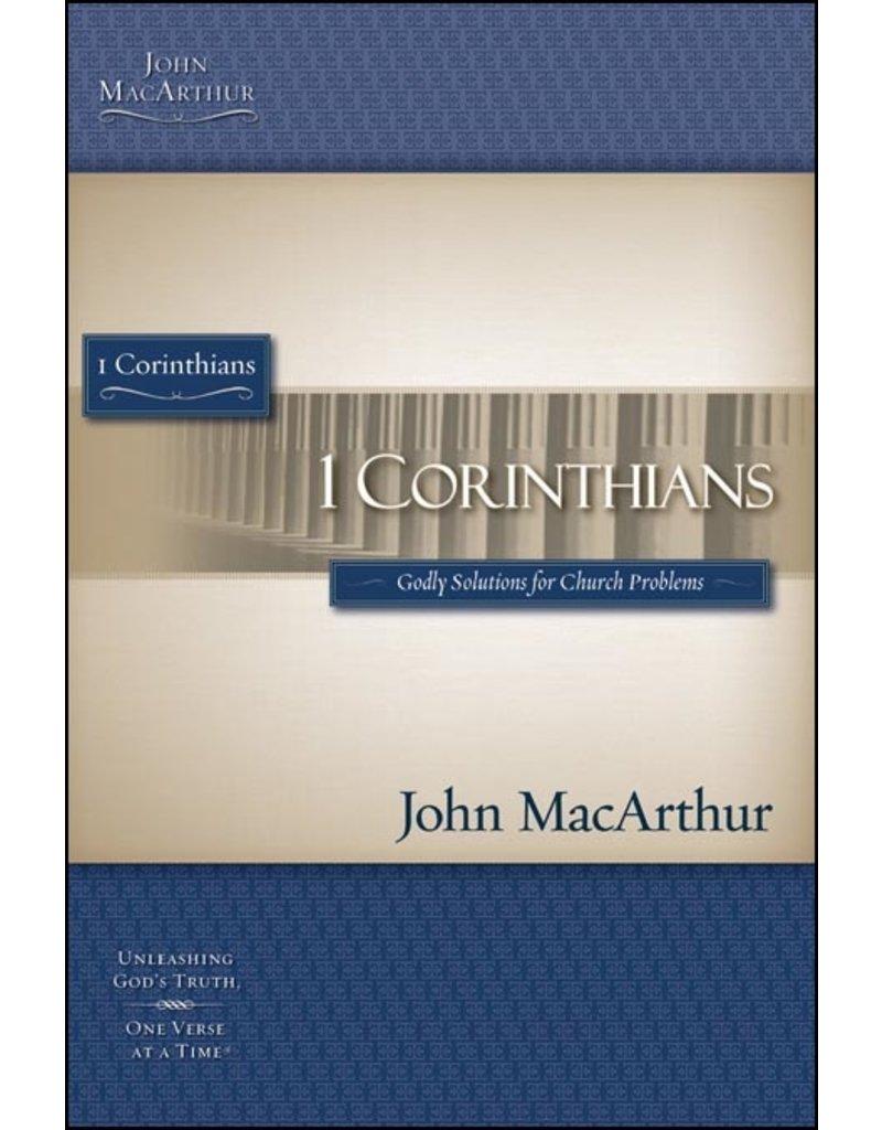 Harper Collins / Thomas Nelson / Zondervan MacArthur Bible Studies (MBS): 1 Corinthians (1st Ed.)