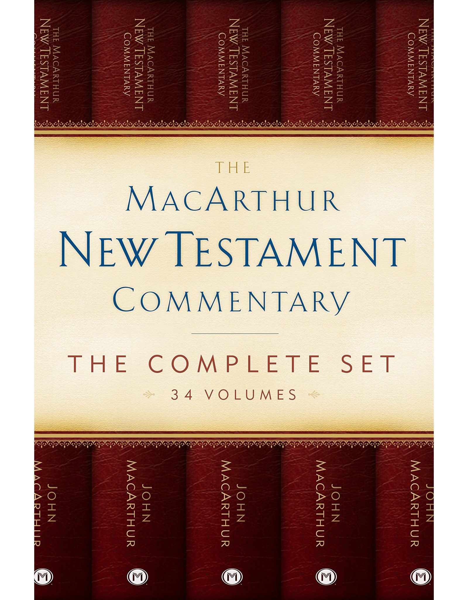 Moody Publishers MacArthur New Testament Commentary 34 Volume Set (FULL MNTC)