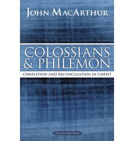 Harper Collins / Thomas Nelson / Zondervan MBS: Colossians & Philemon