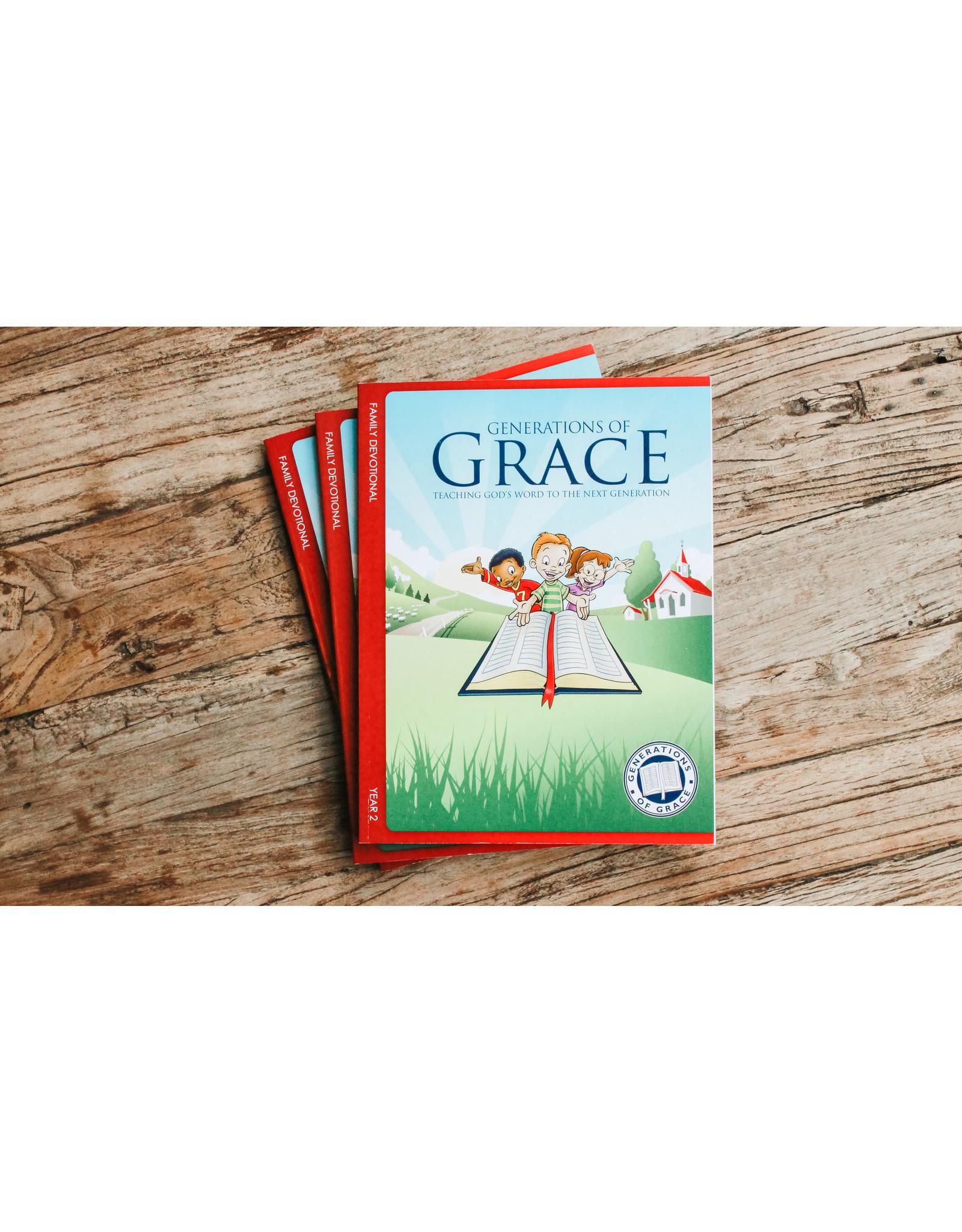 Grace Community Church (GCC) Generations of Grace (GOG) - Family Devotional - Year 2