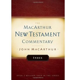 Moody Publishers MacArthur New Testament Commentary (MNTC): Index