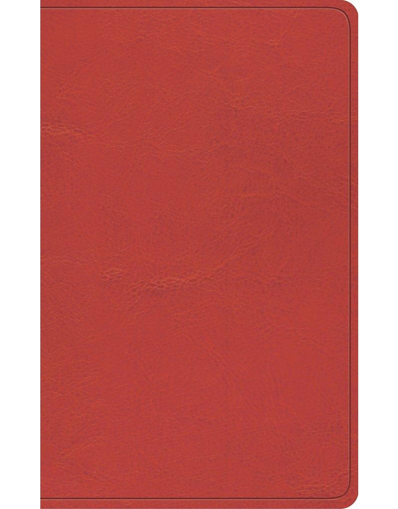 Crossway / Good News ESV Vest Pocket New Testament (Trutone Coral)