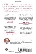 Moody Publishers Word-Centered Church: How Scripture Brings Life and Growth to God's People