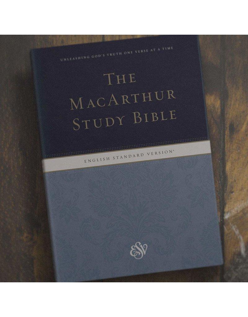 Crossway / Good News MacArthur Study Bible  ESV, Large Print, Hard Cover