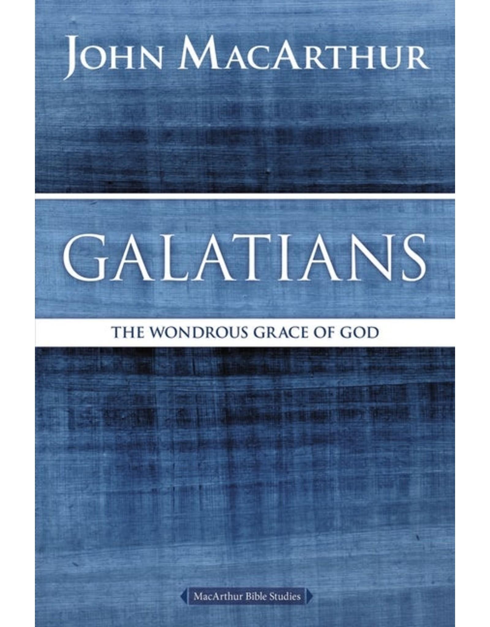 Harper Collins / Thomas Nelson / Zondervan MacArthur Bible Studies (MBS): Galatians