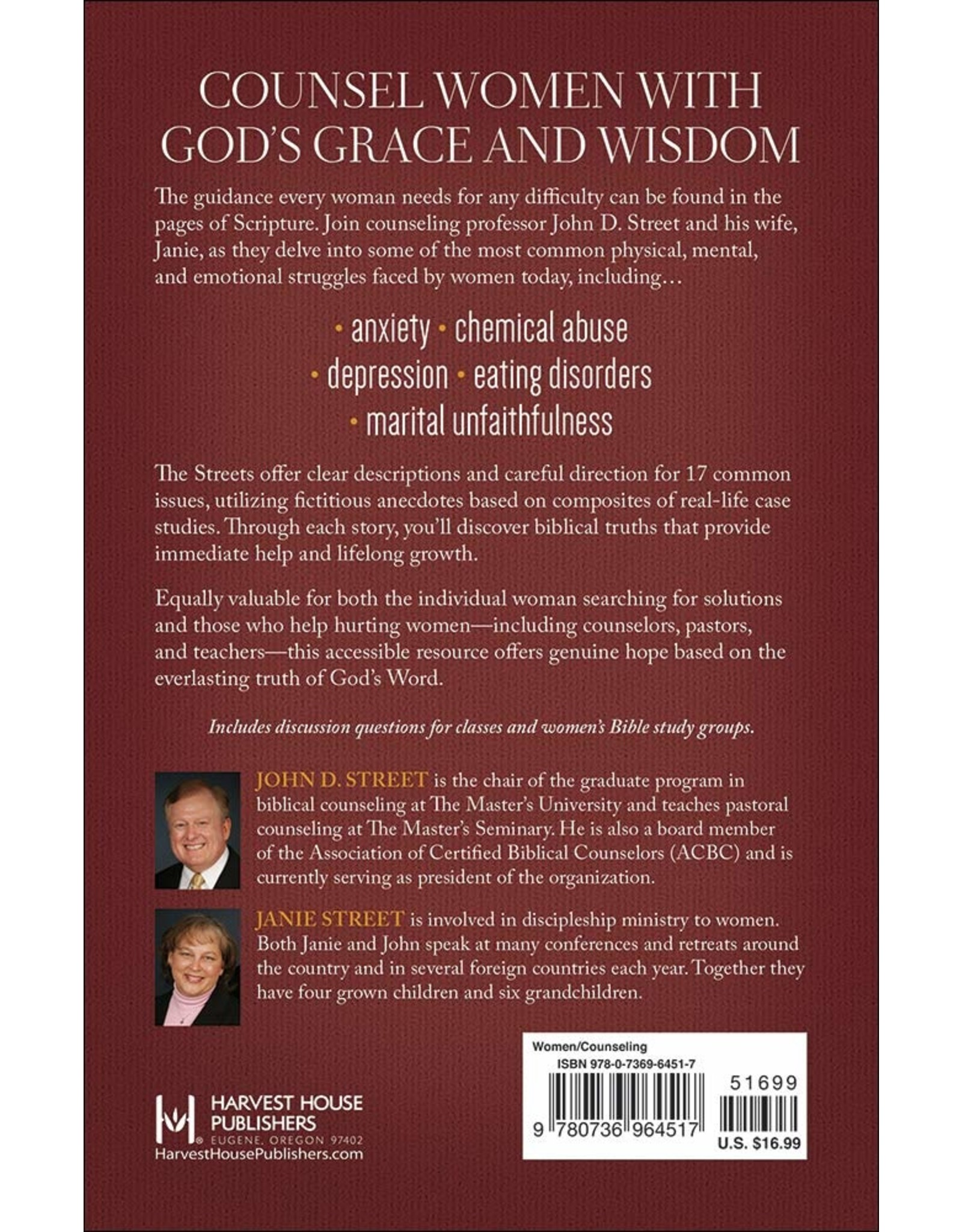 Harvest House Publishers The Biblical Counseling Guide for Women