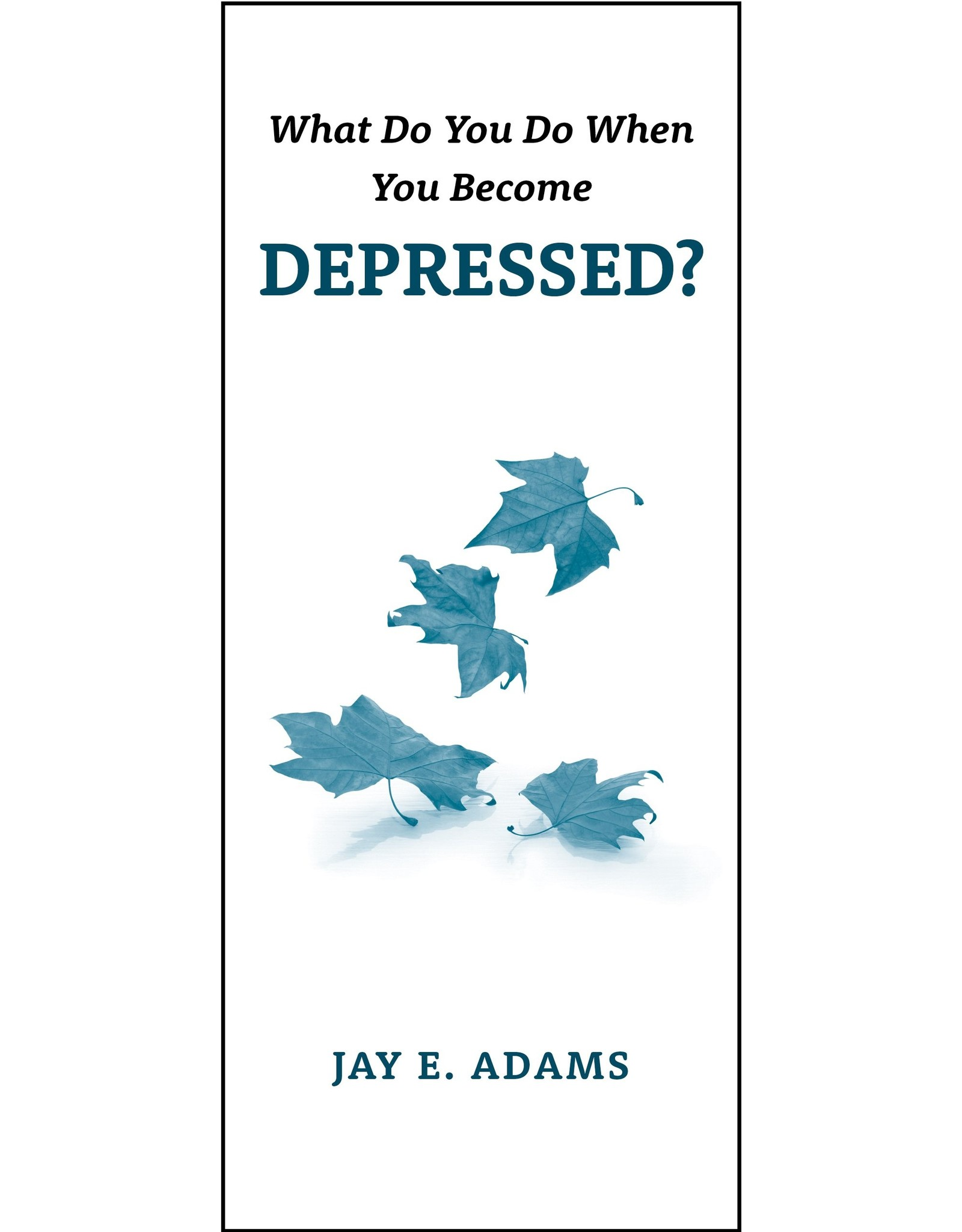 P&R Publishing (Presbyterian and Reformed) What Do You Do When You Become Depressed? (Pamphlet)