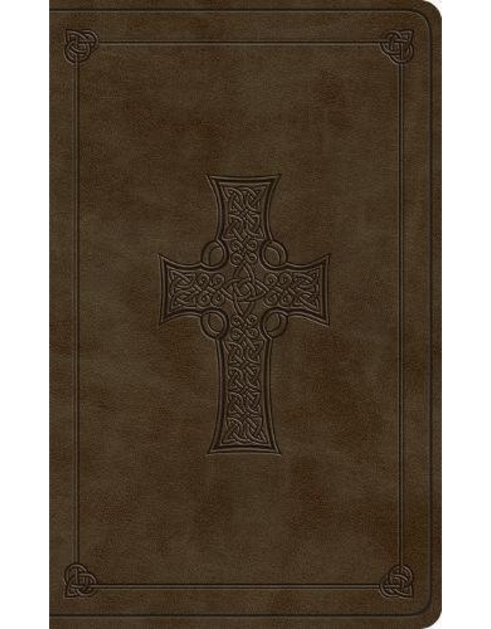 Crossway / Good News ESV Vest Pocket NT with Psalms and Proverbs (Trutone, Olive, Celtic Cross)
