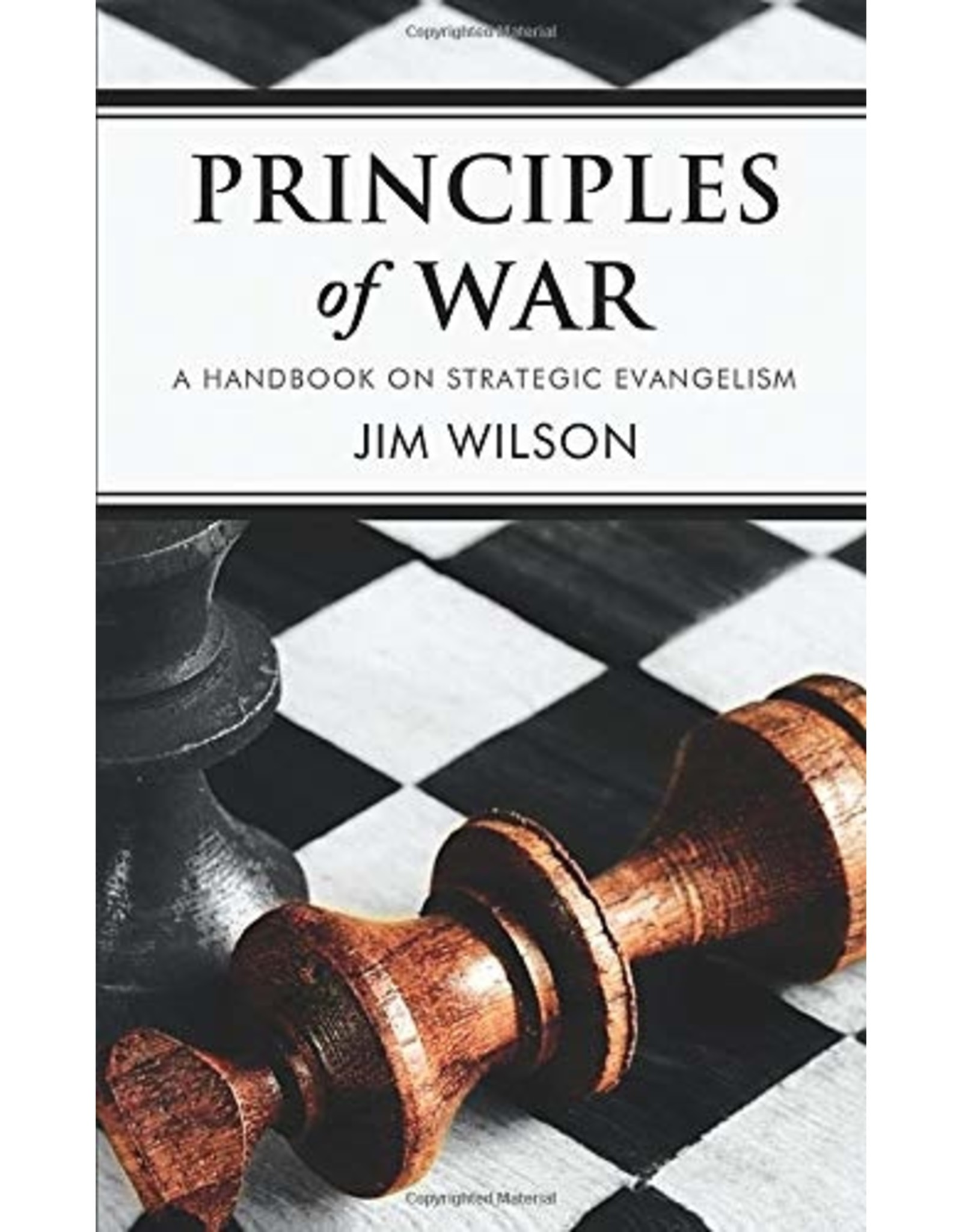 Canon Press Principles of War: A Handbook on Strategic Evangelism