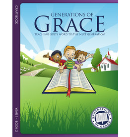 Grace Community Church (GCC) Generations of Grace (GOG) - Craft Book - Year 2 Book 2