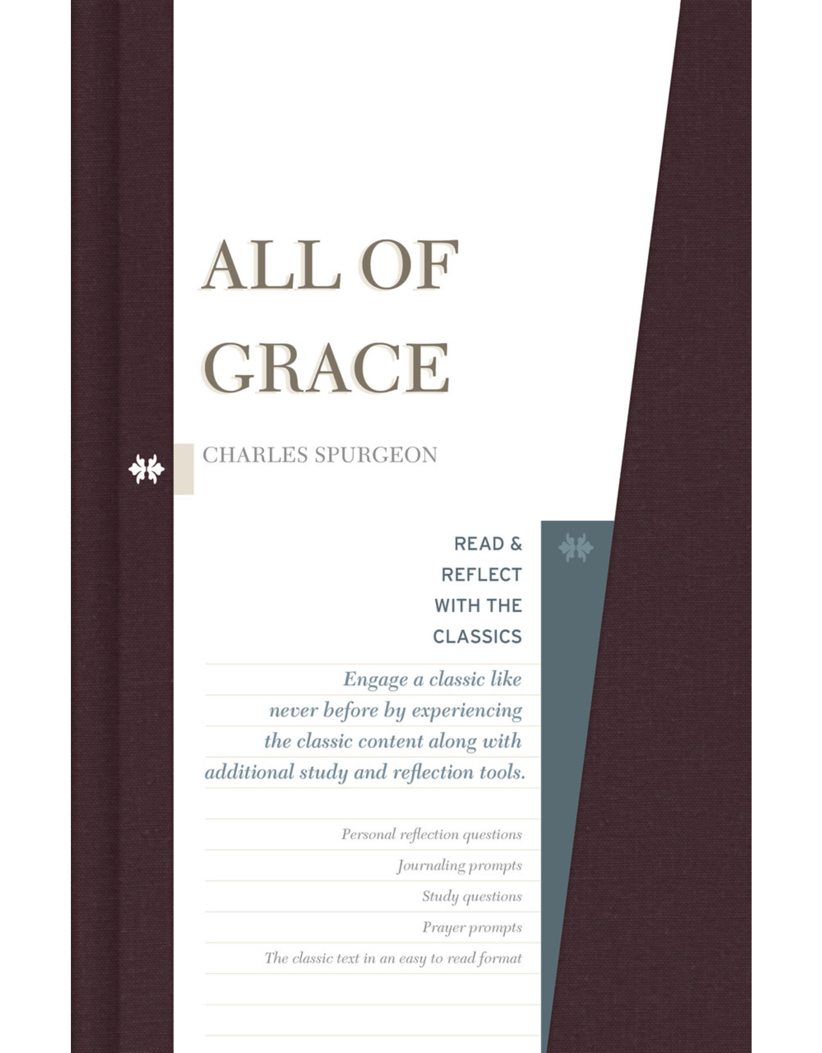 Broadman & Holman Publishers (B&H) All of Grace (Read and Reflect with the Classics Series)