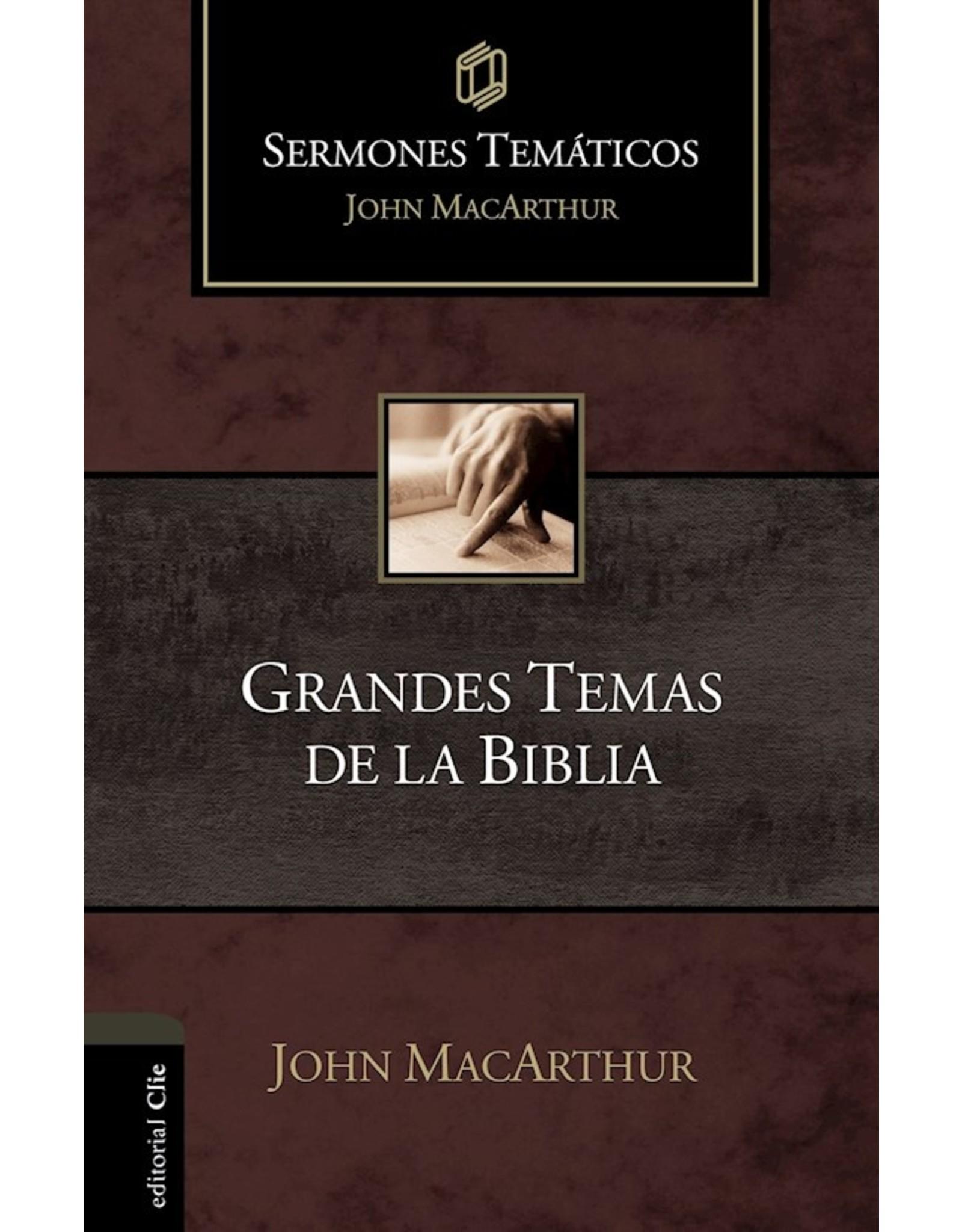Harper Collins / Thomas Nelson / Zondervan Grandes Temas de la Biblia (Sermones temáticos MacArthur)