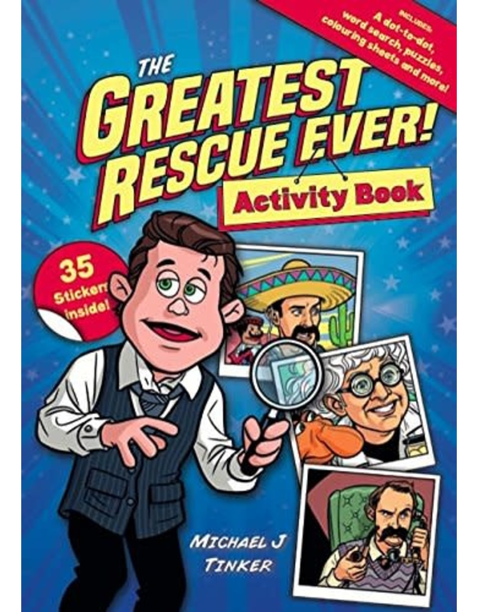 10ofThose / 10 Publishing The Greatest Rescue Ever! Activity Book