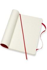 Hachette Moleskine SC LG Squared Scarlet Red