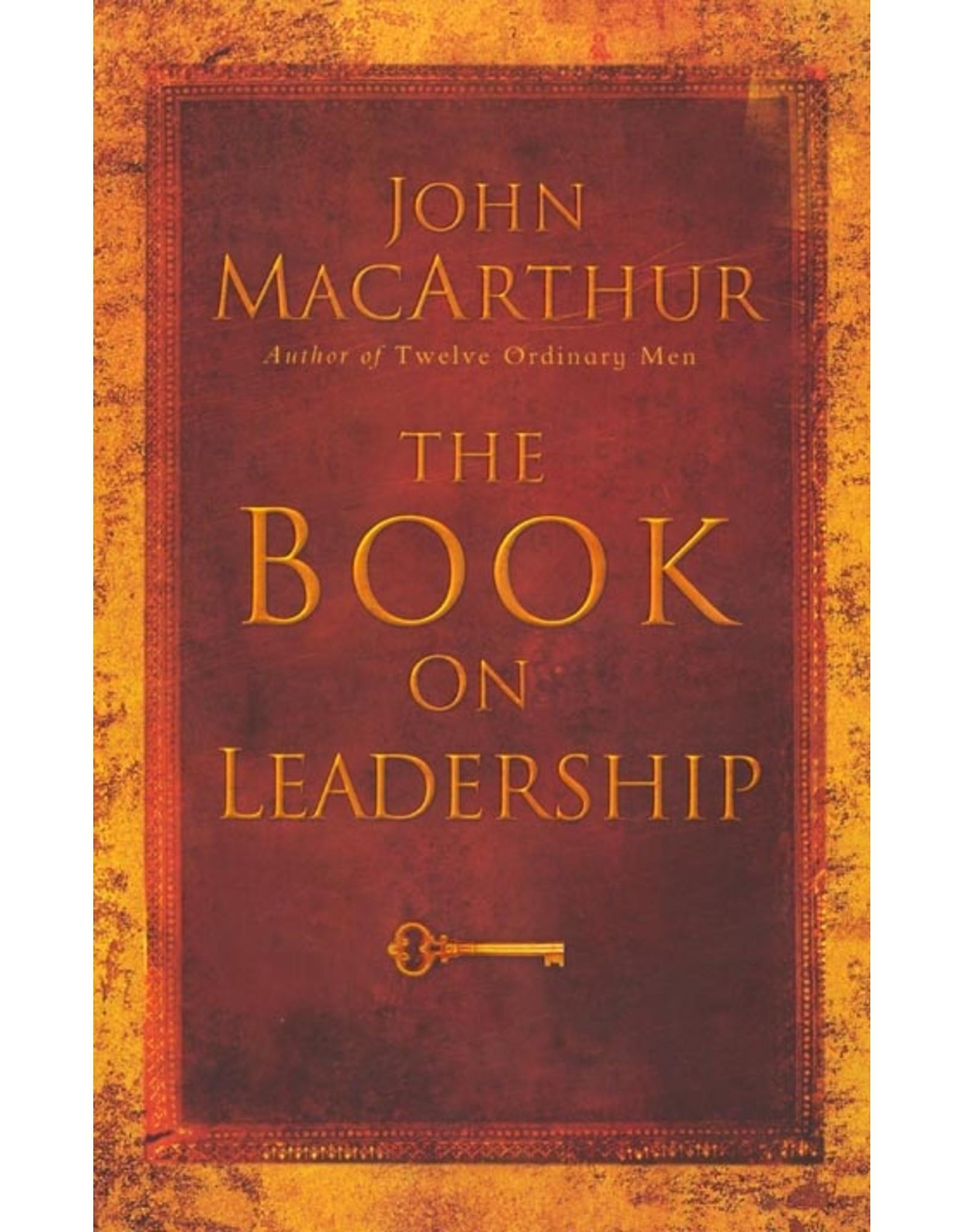 Harper Collins / Thomas Nelson / Zondervan Book on Leadership