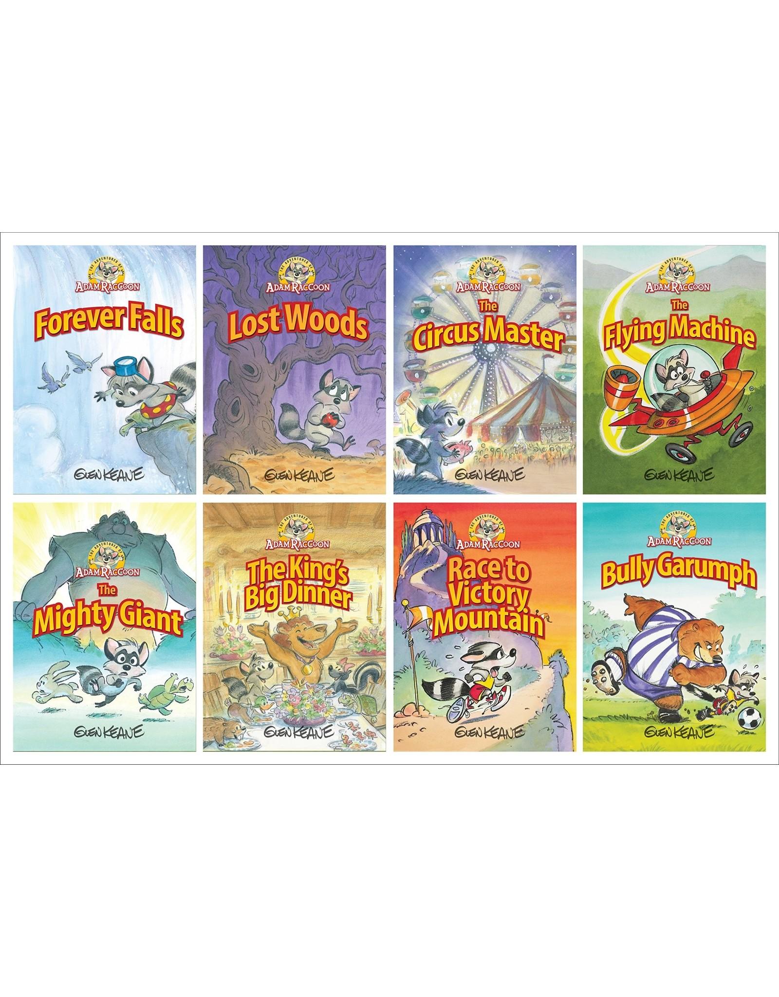316 Publishing Adam Raccoon 8 volume set