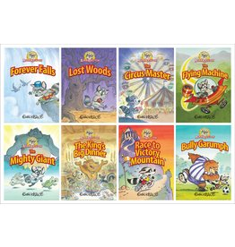316 Publishing Adam Raccoon 8 volume set