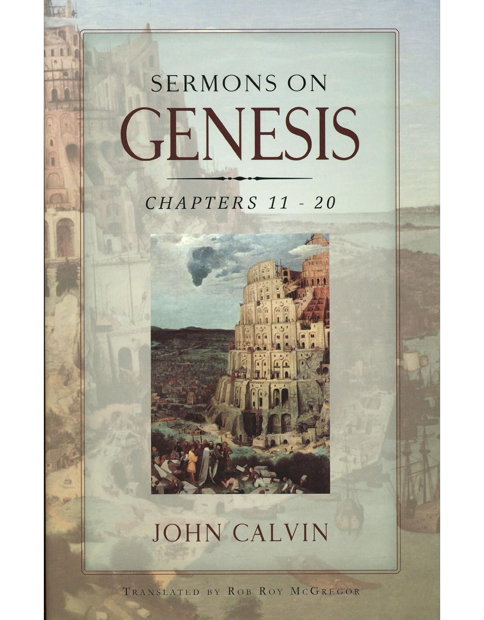 Banner of Truth Sermons on Genesis: 11-20