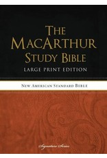 Harper Collins / Thomas Nelson / Zondervan MacArthur Study Bible: NASB Large Print, Hardcover, Indexed