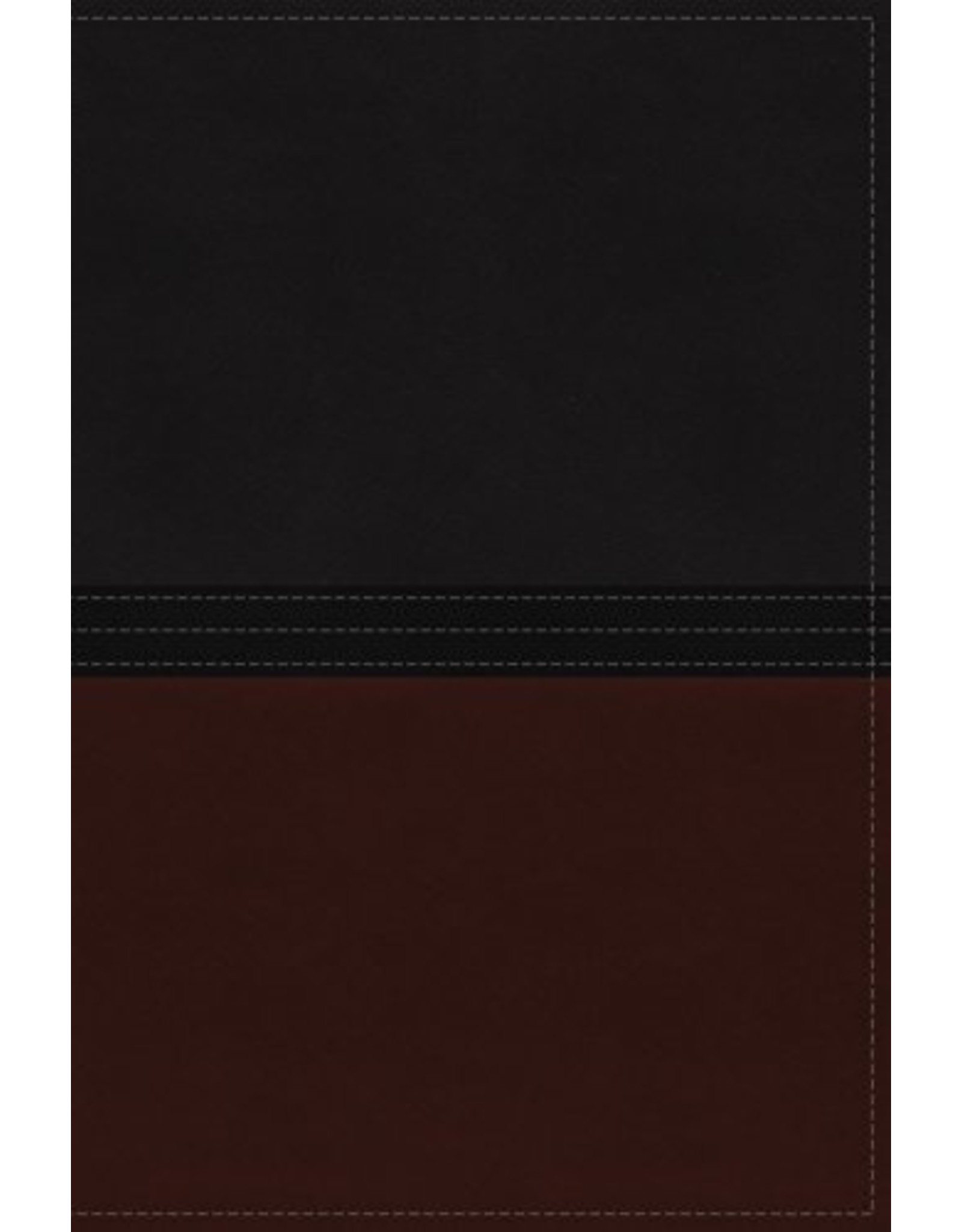 Harper Collins / Thomas Nelson / Zondervan MacArthur Study Bible NIV Leathersoft, Auburn/Black, Indexed