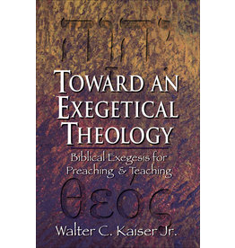 Baker Publishing Group / Bethany Toward an Exegetical Theology