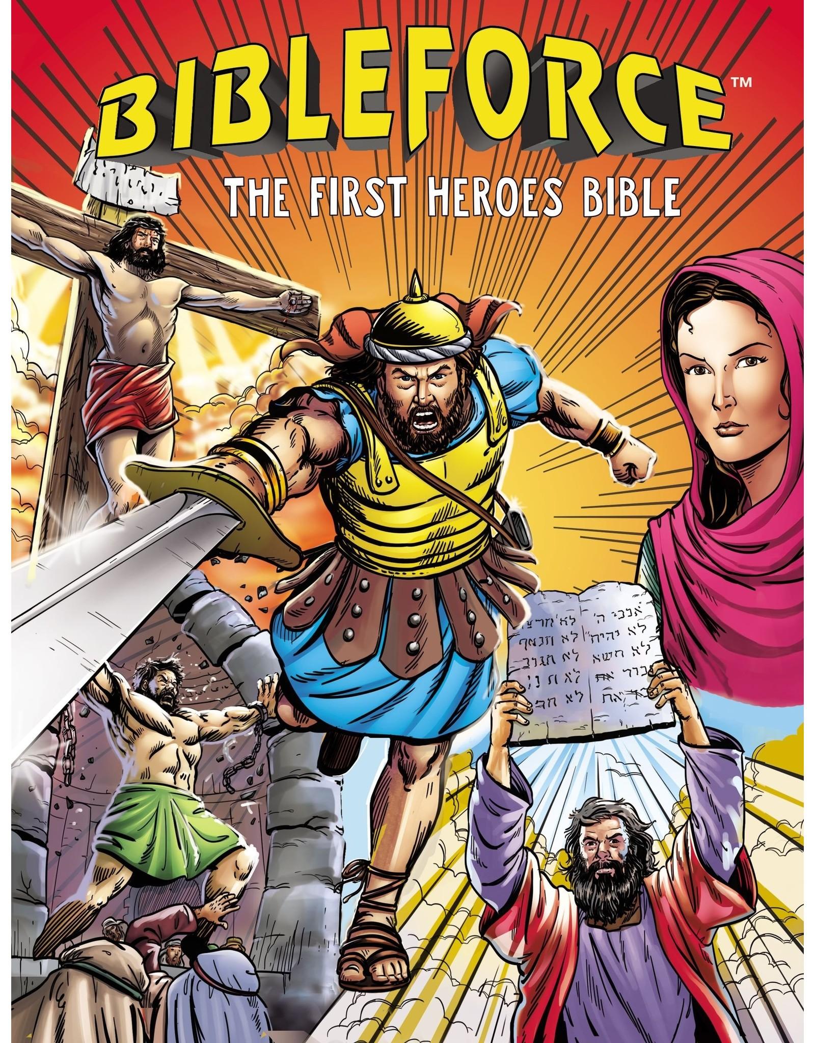 Harper Collins / Thomas Nelson / Zondervan BibleForce: The First Heroes Bible