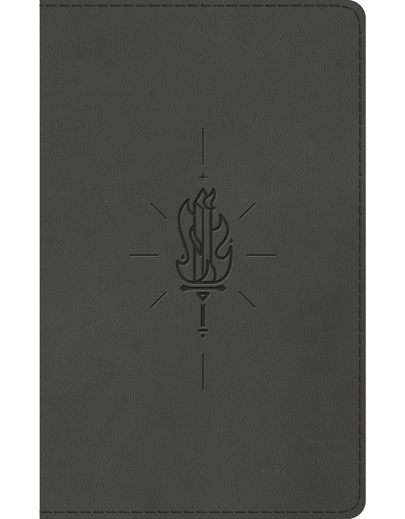 Crossway / Good News ESV Kid's Thinline Bible - Gray Sword Of The Spirit Design TruTone