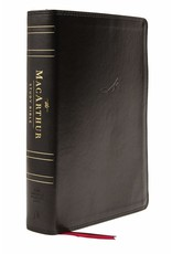 Harper Collins / Thomas Nelson / Zondervan NASB MSB MacArthur Study Bible (2nd Edition, Leathersoft, Black, Thumb Indexed)