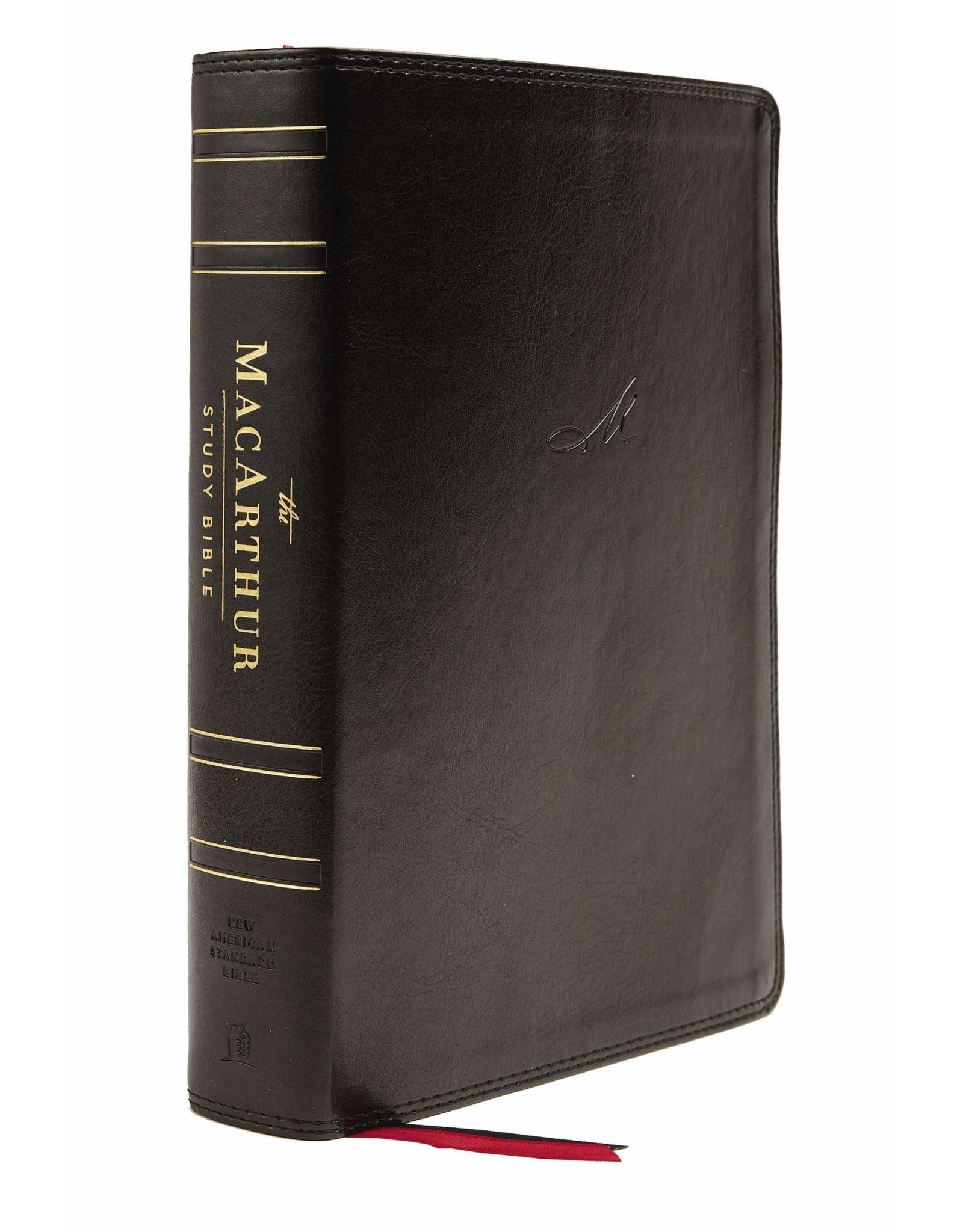 Harper Collins / Thomas Nelson / Zondervan NASB MSB MacArthur Study Bible (2nd Edition, Leathersoft, Black, Thumb Indexed, Comfort Print)