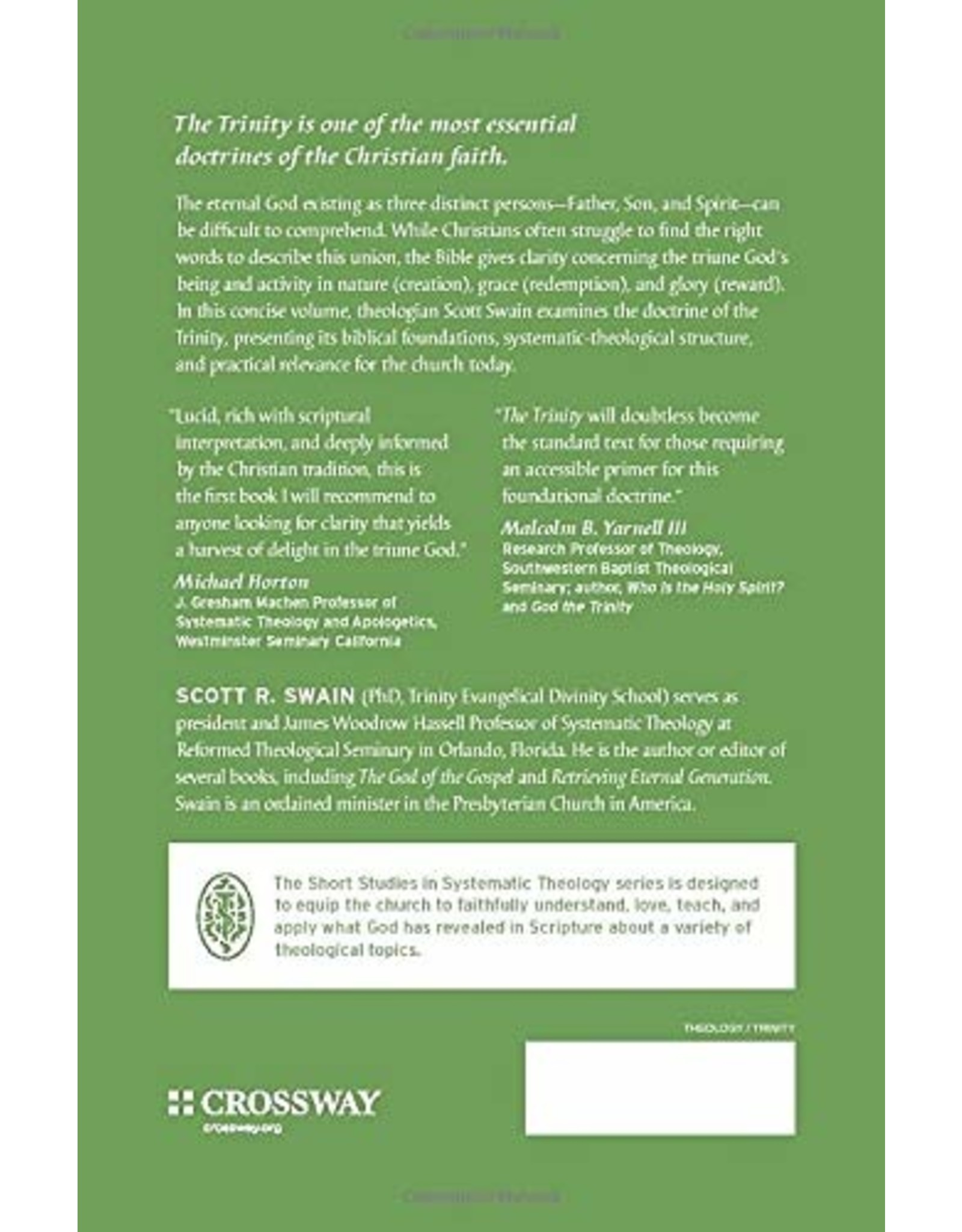 Crossway / Good News The Trinity: An Introduction