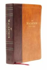 Harper Collins / Thomas Nelson / Zondervan NASB MSB MacArthur Study Bible (2nd Edition, Leathersoft, Brown)