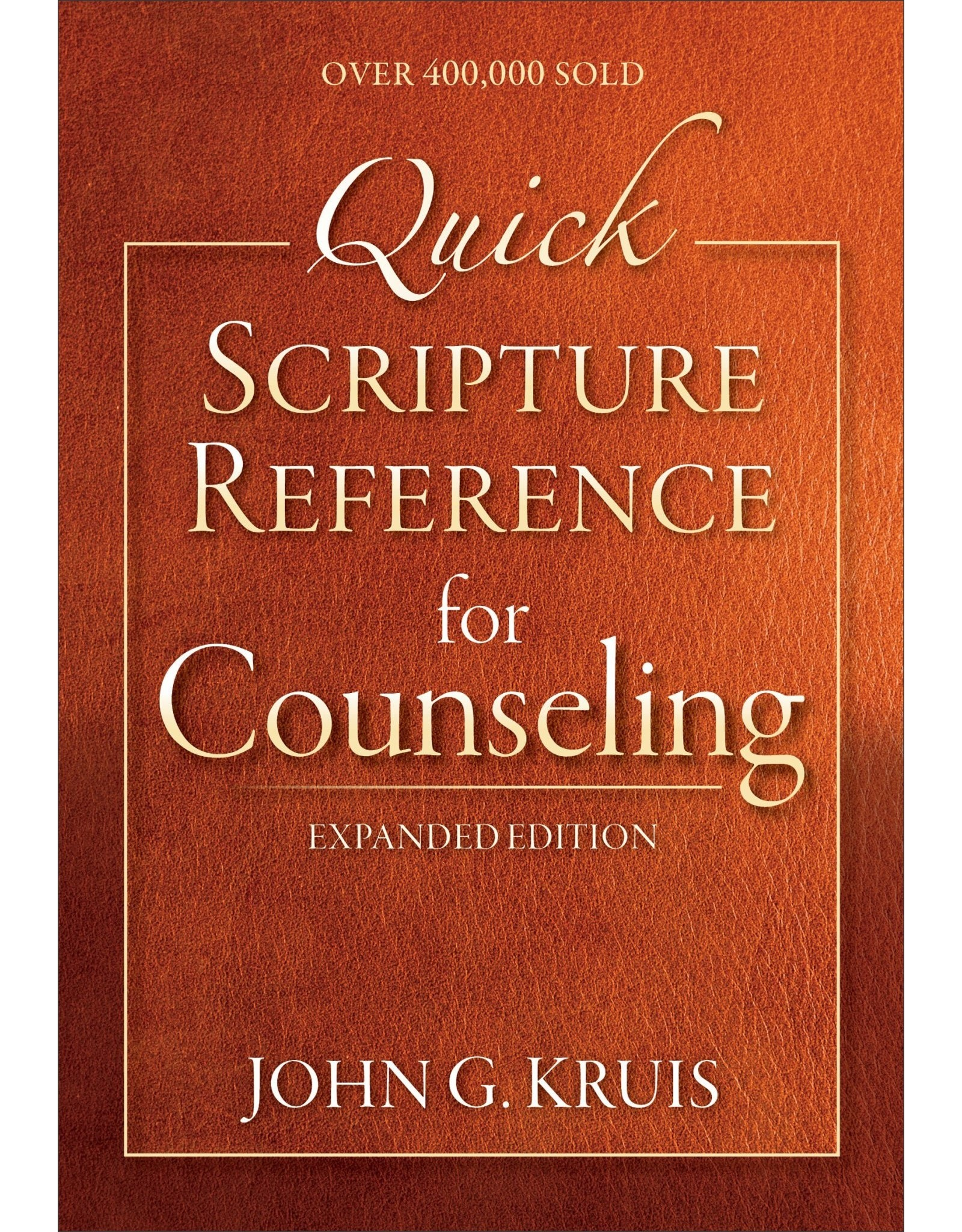 Baker Publishing Group / Bethany Quick Scripture Reference for Counseling (3rd Ed)