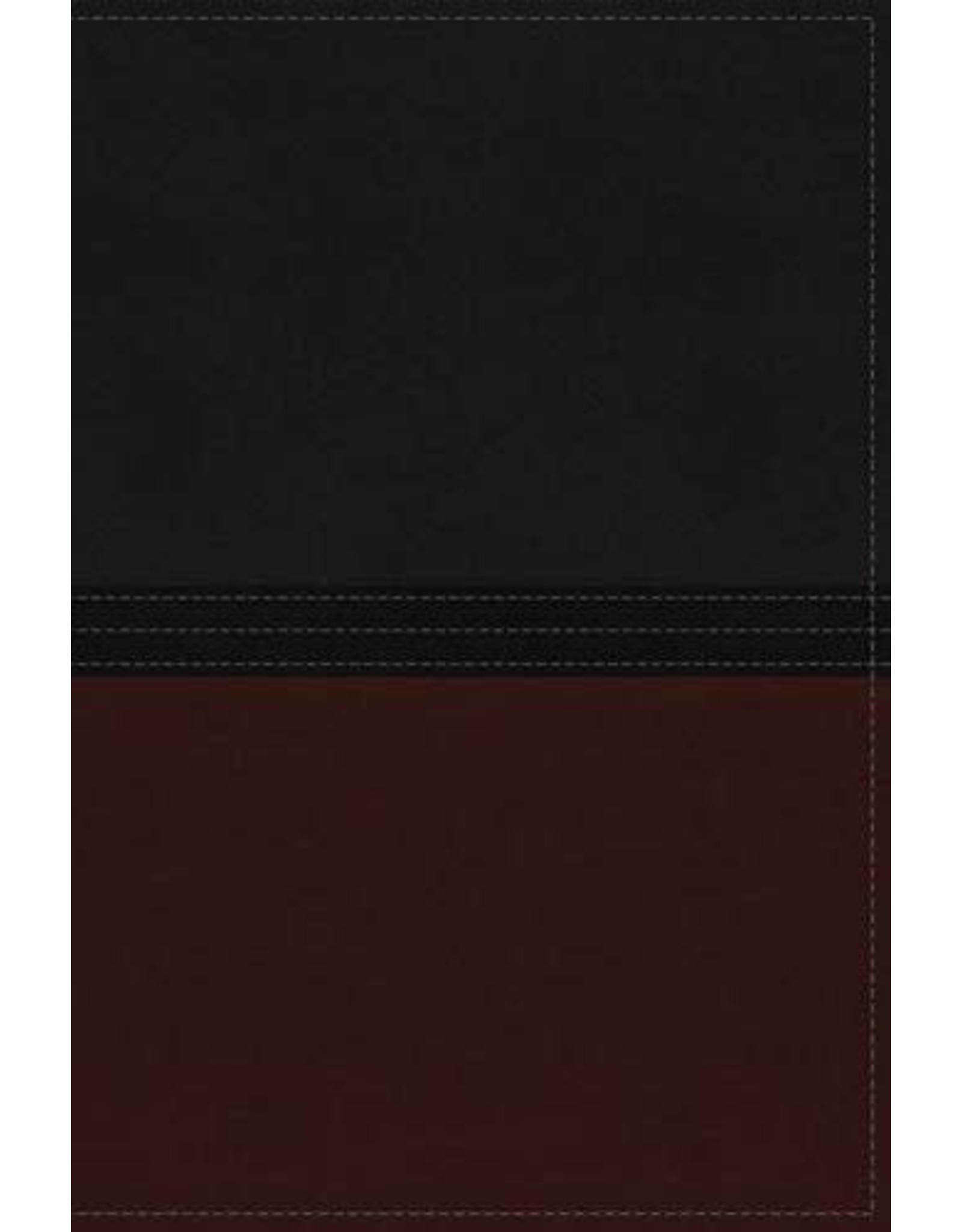 MacArthur Study Bible NIV Auburn/Black , Leathersoft