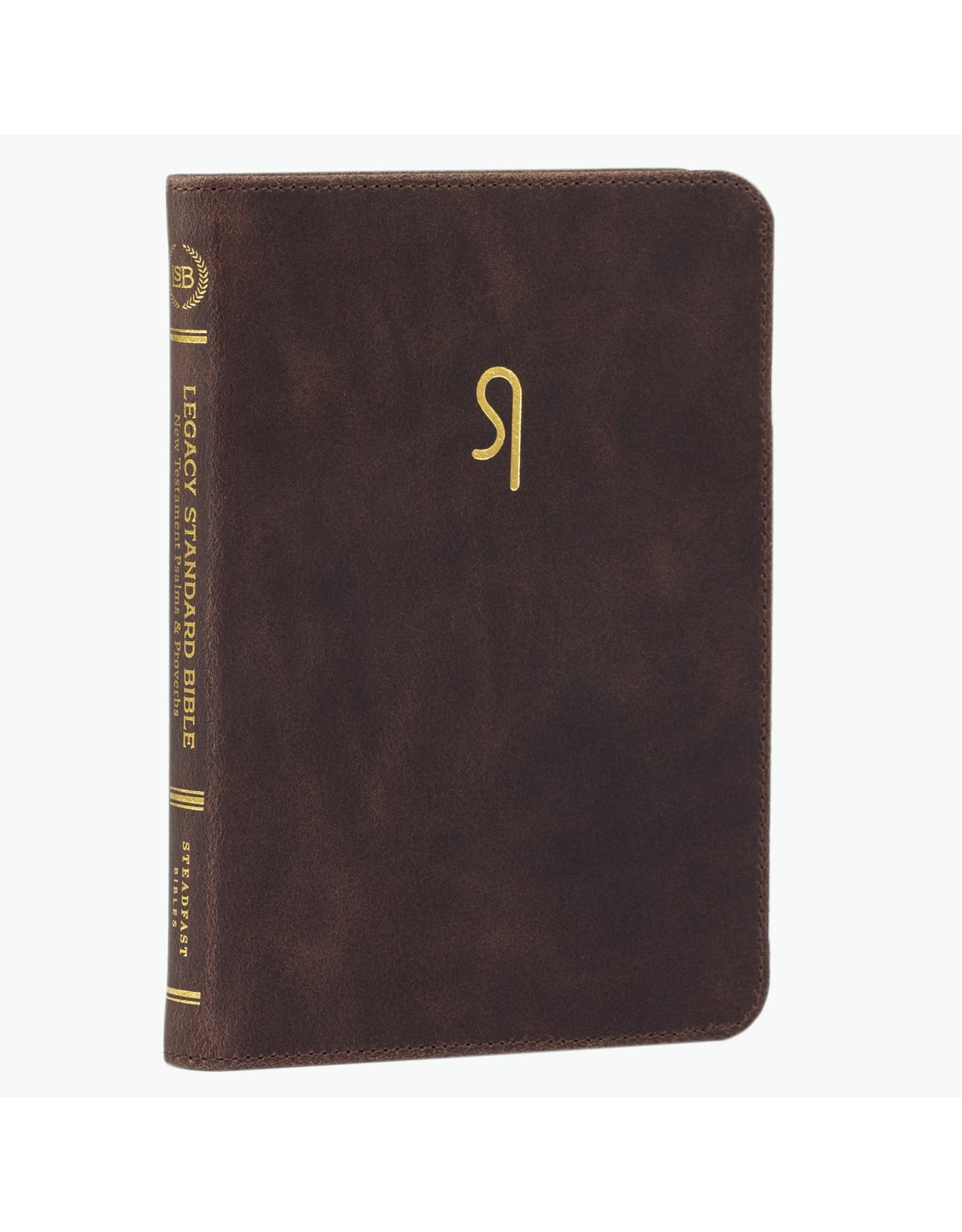 316 Publishing LSB New Testament with Psalms and Proverbs, Patina Brown Cowhide (SC Logo)