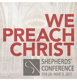 Audio & Visual Ministries We Preach Christ, ShepCon 2017 CDs