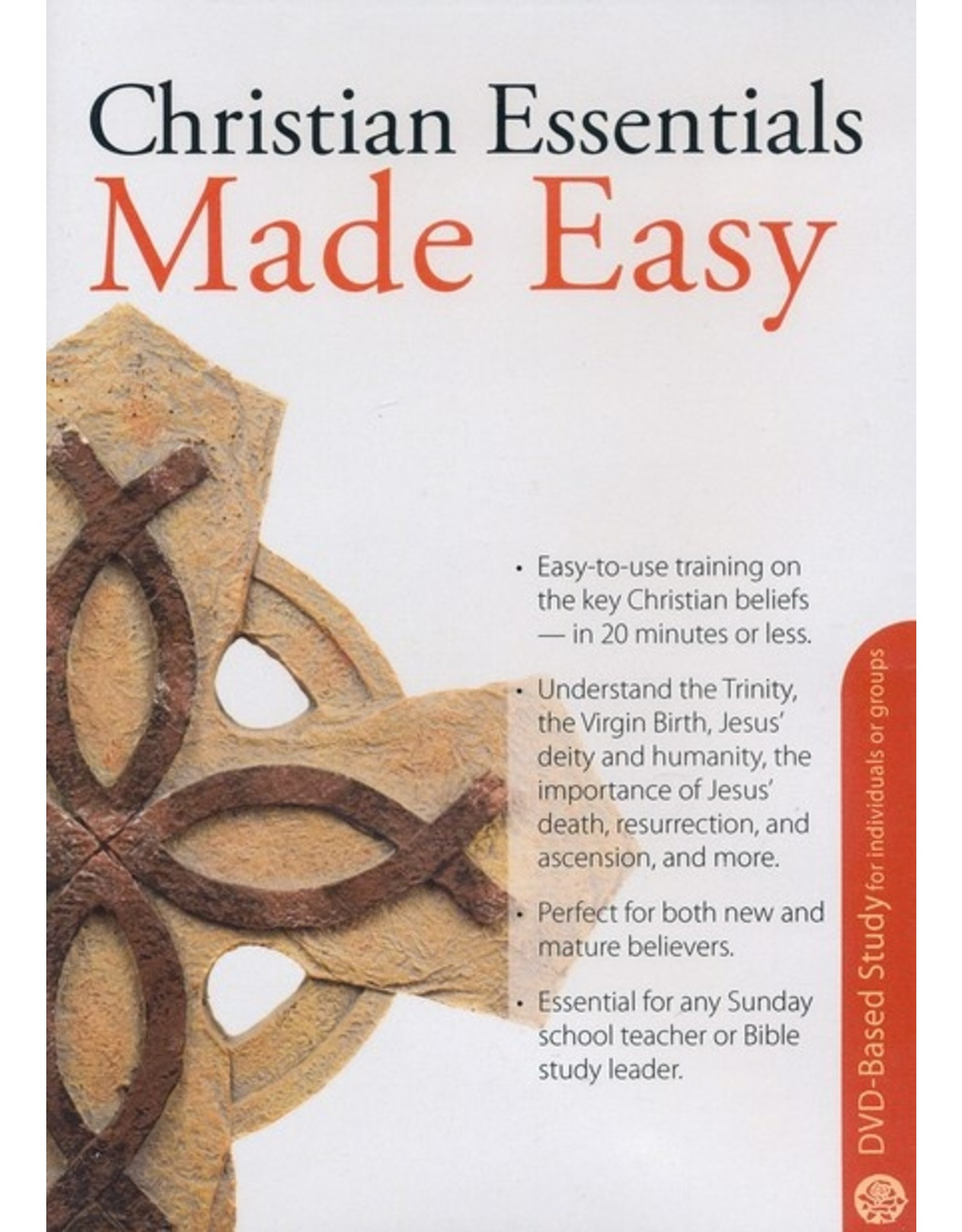 Rose Publishers Christian Essentials Made Easy DVD-Based Study for Individuals or Groups