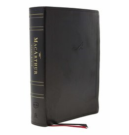 Harper Collins / Thomas Nelson / Zondervan NKJV MSB MacArthur Study Bible (2nd Ed., Leathersoft, Black, Comfort Print)