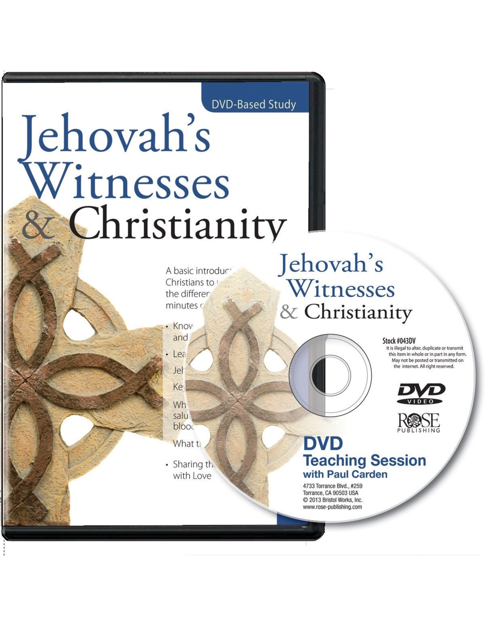 Rose Publishers Jehovah's Witnesses & Christianity (DVD)