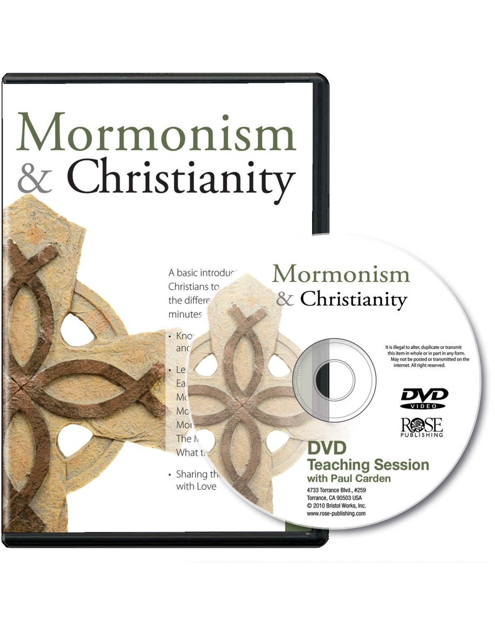 Rose Publishers Mormonism and Christianity DVD