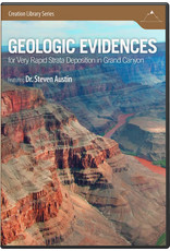 Answers in Genesis (AiG) / Master Books Geologic Evidences: for Very Rapid Strata Deposition in Grand Canyon (DVD)