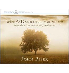 Crossway / Good News When Darkness Will Not Lift (Audio CD)