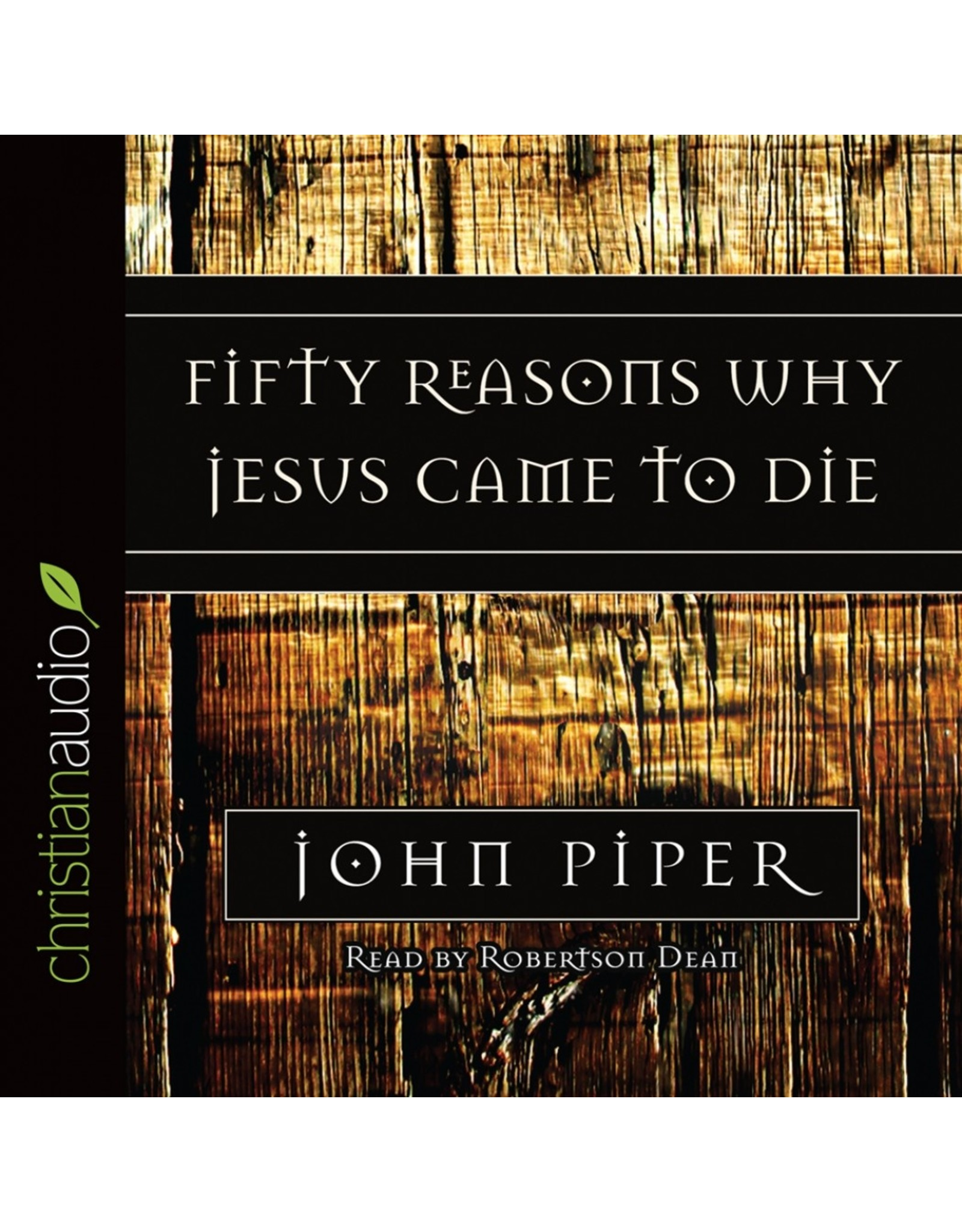 Hovel Audio Fifty Reasons Why Jesus Came to Die (Audio CD)