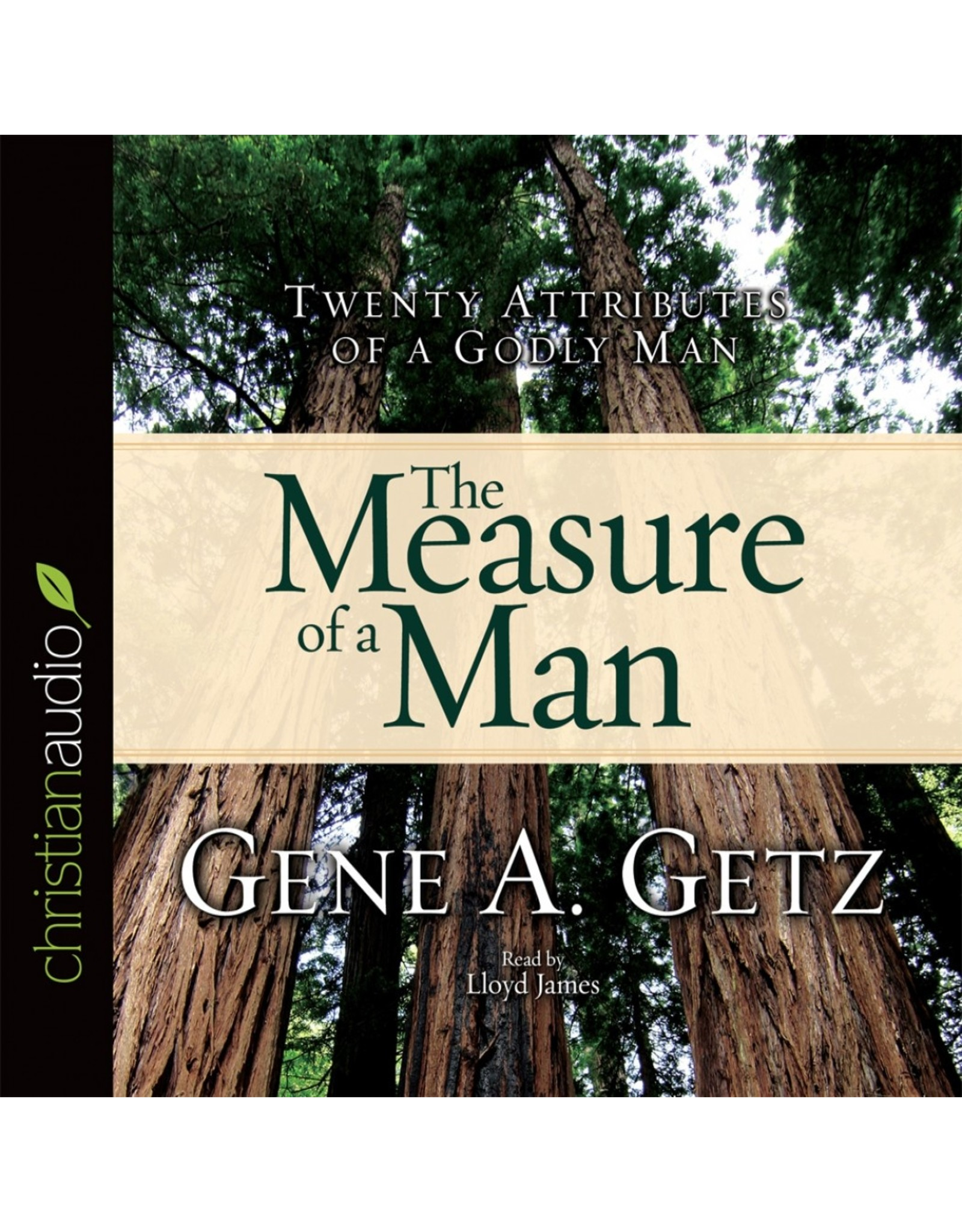 Hovel Audio The Measure of a Man: Twenty Attributes of a Godly Man (Audio CD)