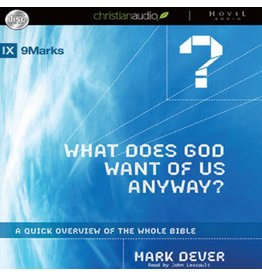 Hovel Audio What Does God Want of Us Anyway? (Audio CD)