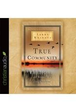 eChristian True Community: The Biblical Practice of Koinonia (Audio CD)