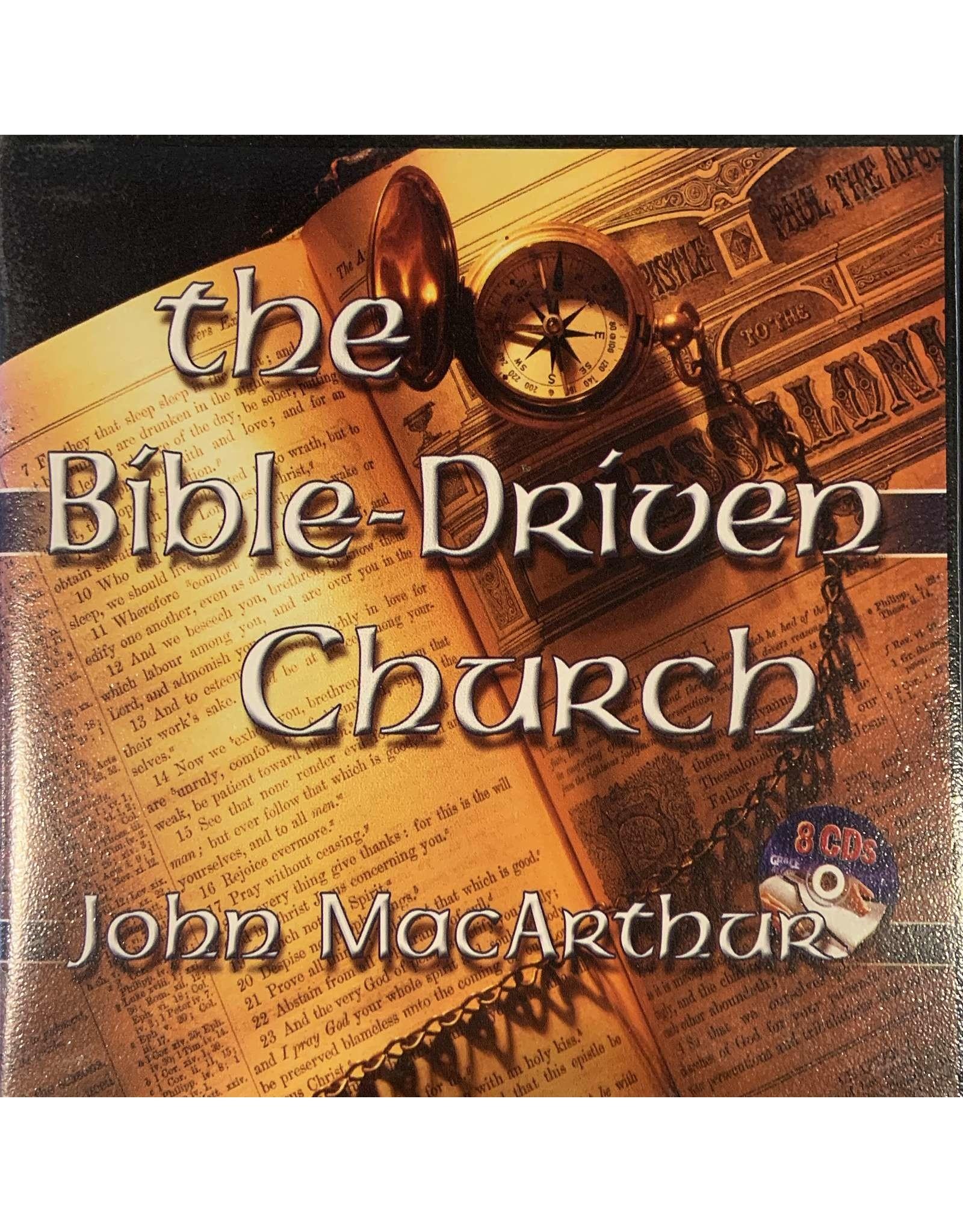 Grace to You (GTY) The Bible-Driven Church (Audio CD)
