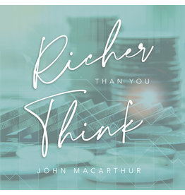Grace to You (GTY) Richer Than You Think (Audio CD)