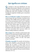 SPAN-Que significa ser cristiano (What it Means to be Christian) Tract- 100ct
